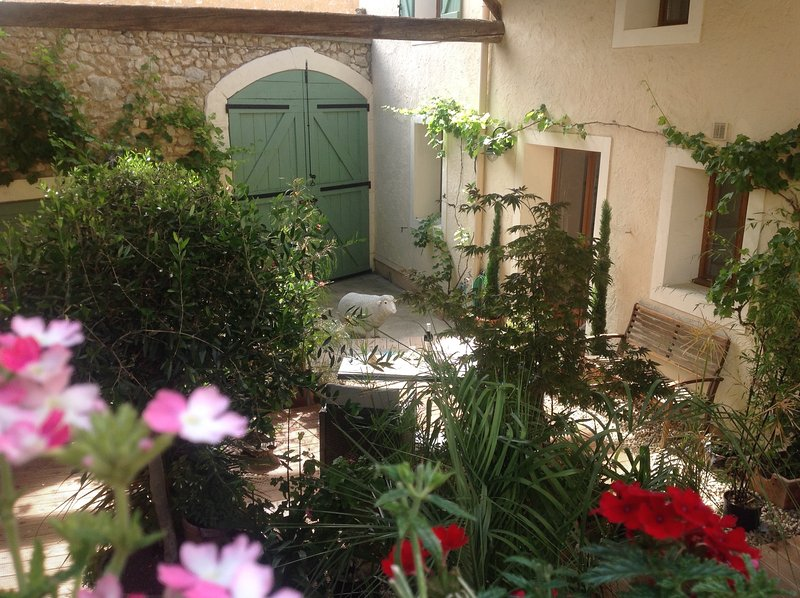 Courtyard & Gite entrance