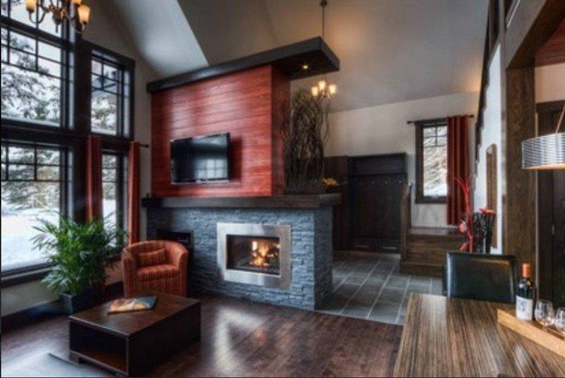 Chalet très moderne dans un décor exceptionnel, holiday rental in Vallee-Jonction