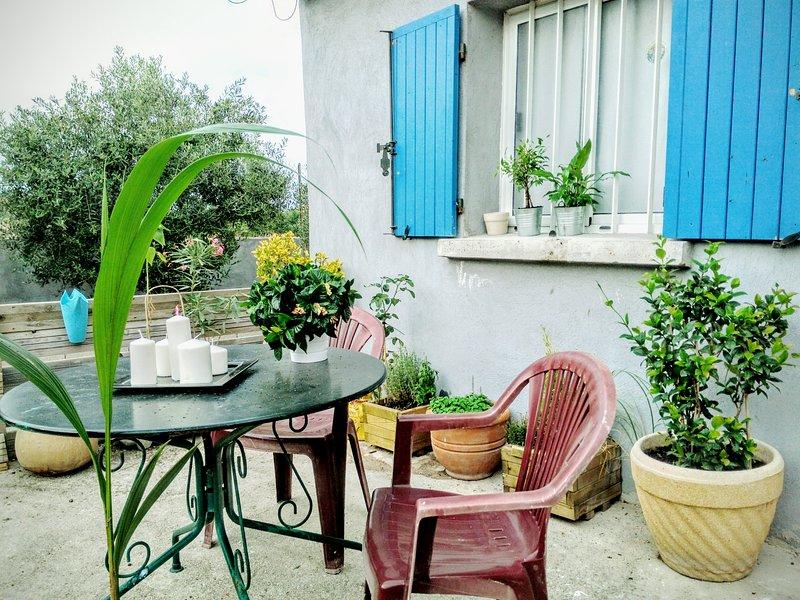 Safaa'house logement entier tout équipé., holiday rental in Marignane