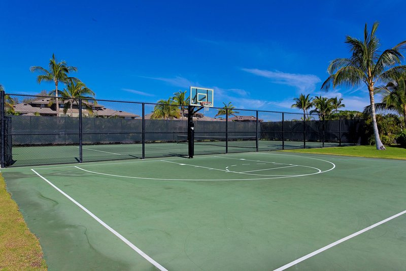 On site tennis courts & basketball court