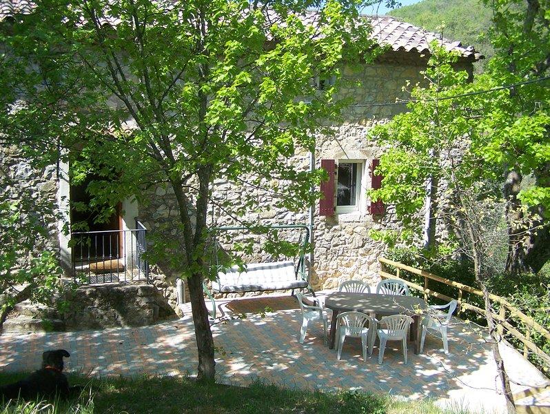 Gîte de Laulagner, vacation rental in Saint-Maurice-d'Ibie