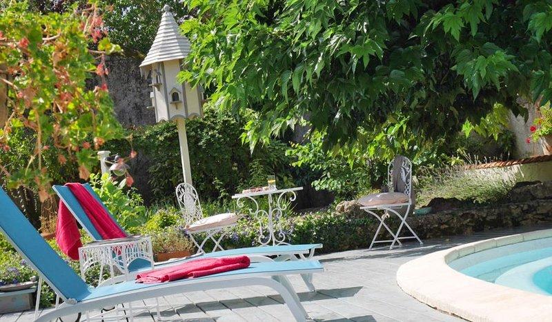 L'Arbre D' Ange Bed & Breakfast The Suite, alquiler de vacaciones en Montmorillon