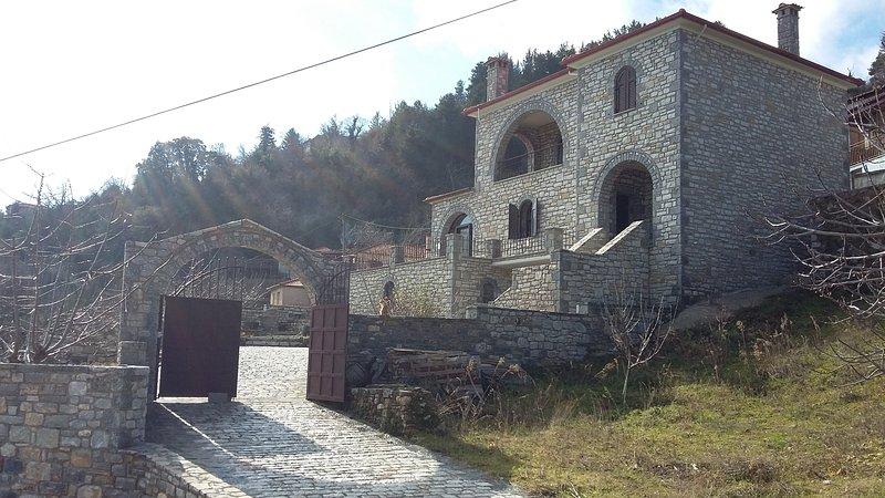 Stone mansion Anavriti, holiday rental in Anavryti