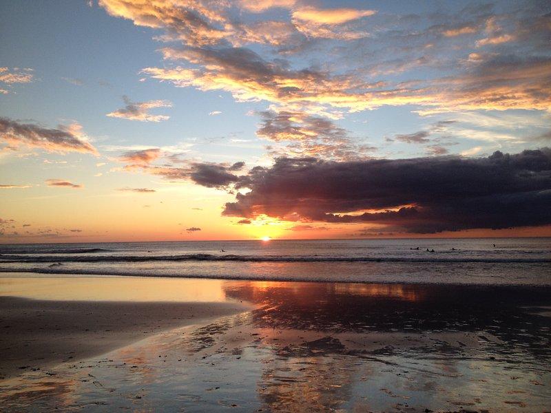 Otra puesta del sol hermosa