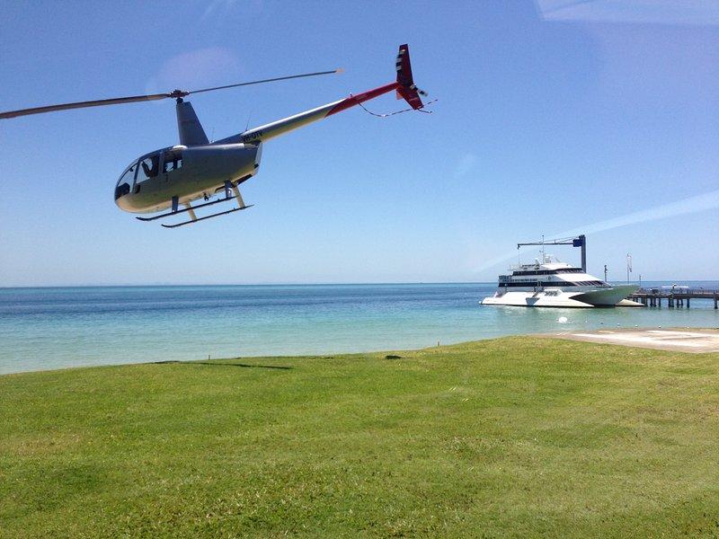 Take a flight around the island with Tanga-air!