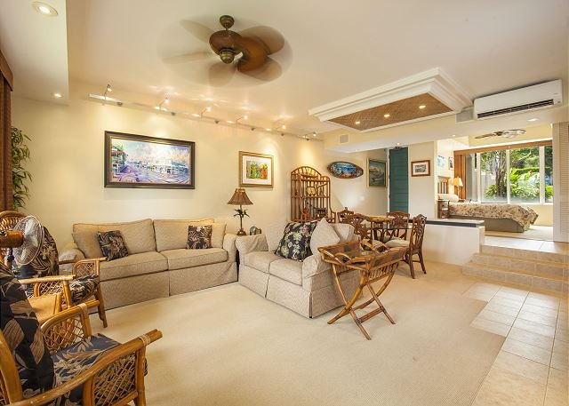 Palms at Wailea #305 A/C Throughout, Close to Pool, Nicely Appointed Sleeps 6 – semesterbostad i Kihei