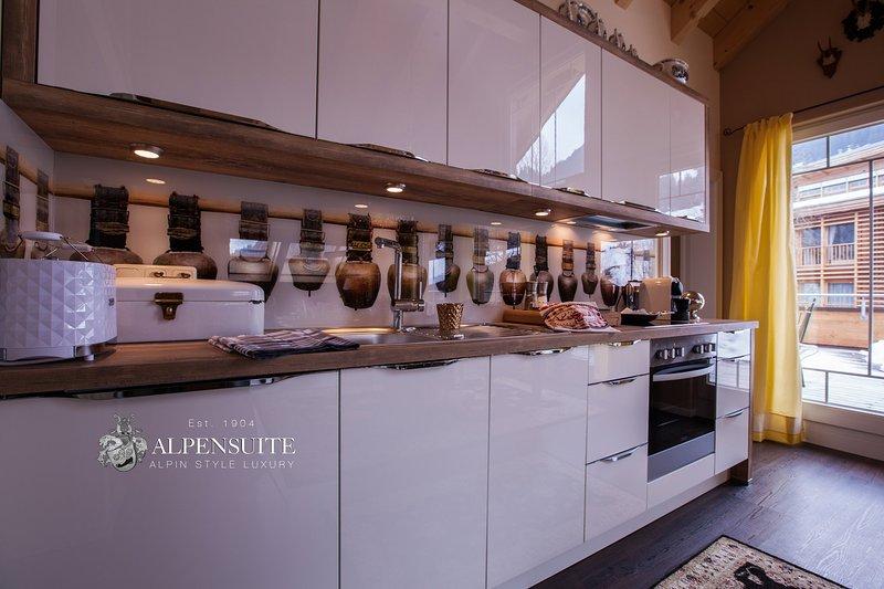 Alpen Cuisine Suite Walser suite penthouse Riezlern Kleinwalsertal