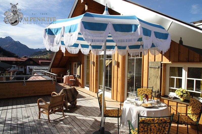 Rooftop Alpen Suite Appartement Riezlern Kleinwalsertal