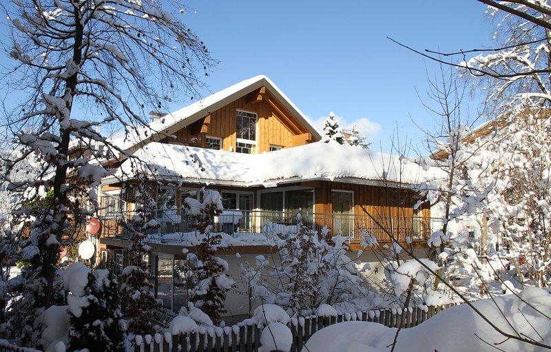Terrasse sur le toit Penthouse Suite Alpine Suite Riezlern Kleinwalsertal vacances