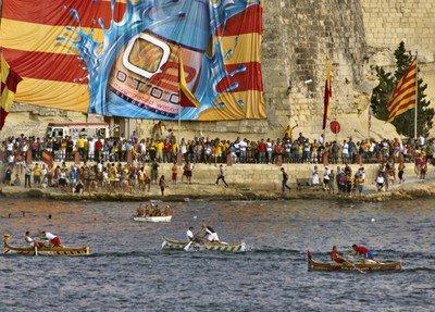 Traditionelle Regatta am 8. September im Grand Harbour.