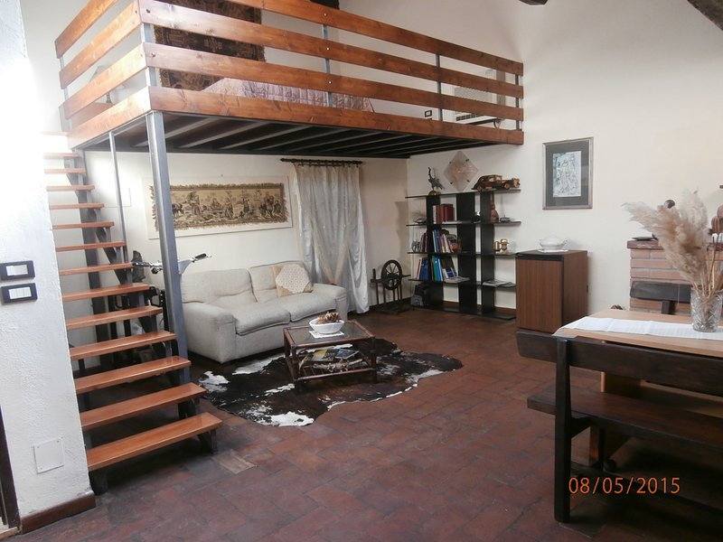 Cassero del Sale Apartment, holiday rental in Bagno Roselle