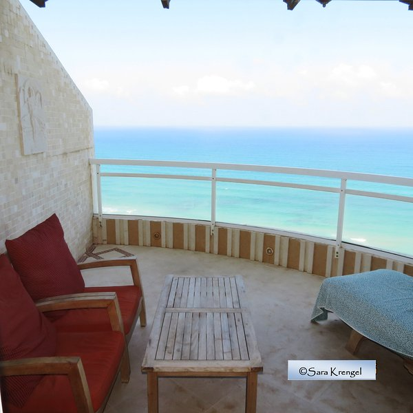 Nitza SeaView apartment, holiday rental in Netanya
