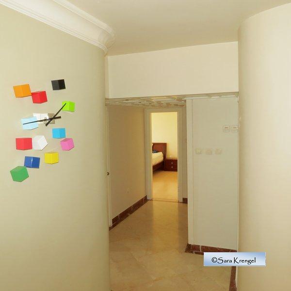 floor between rooms