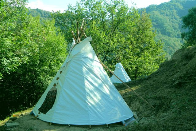 Extreme Teepee Camp, holiday rental in Province of Genoa