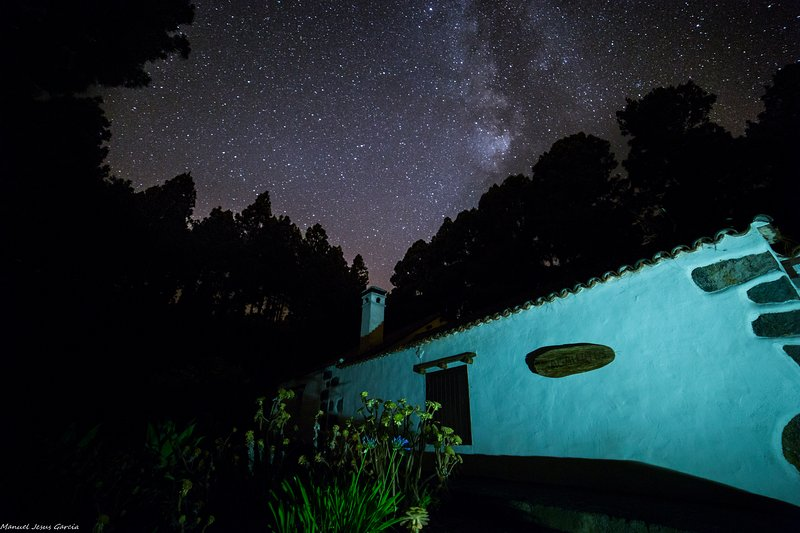 Our home location and clean air makes it ideal for star gaze. Starry nights! :)