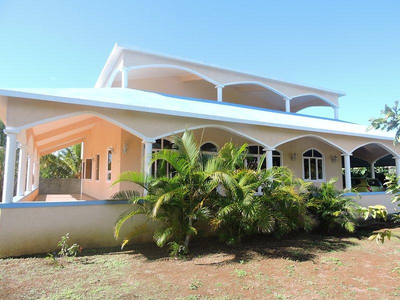 Appartement dans une villa, Cap malheureux, aluguéis de temporada em Mapou