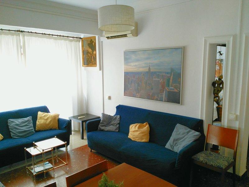 Salón luminoso y confortable, para sentirse cómo en casa