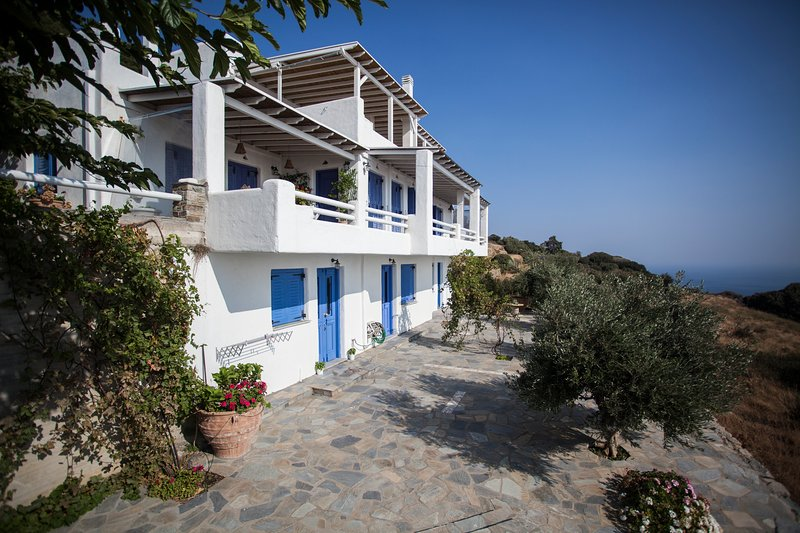 3 Floor House in Andros (Great Sea View), holiday rental in Apikia