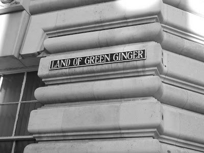 It's a 30 second stroll to the Land of Green Ginger where you can see England's smallest window.