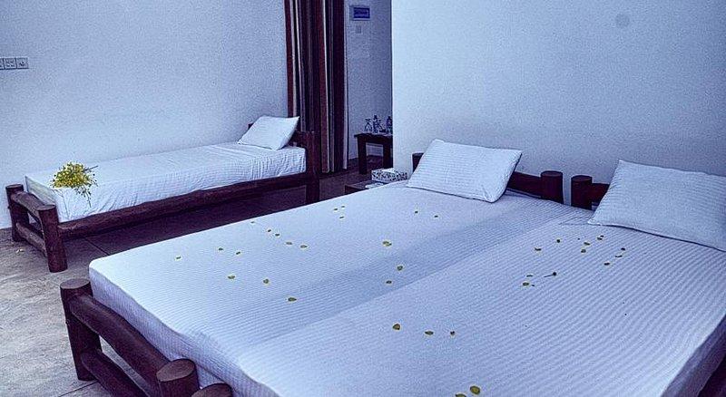 Triple säng med king size madrass