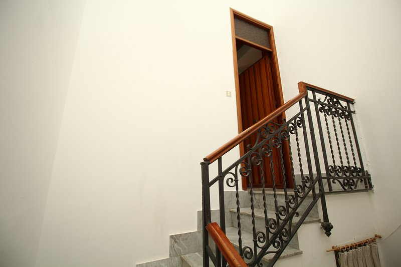 Entrance from the staircase