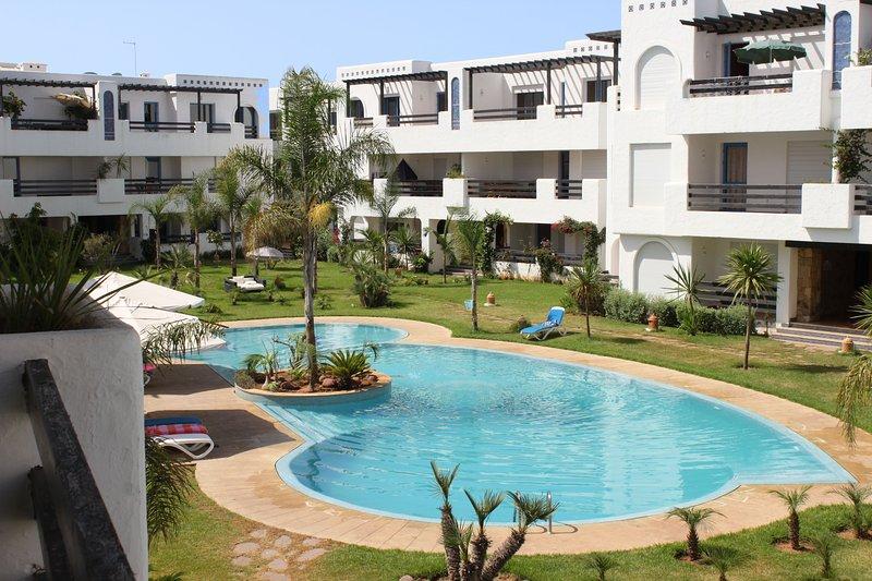 Appartement haut standing plage, Maroc, alquiler de vacaciones en Región de Rabat-Salé-Zemur-Zaer