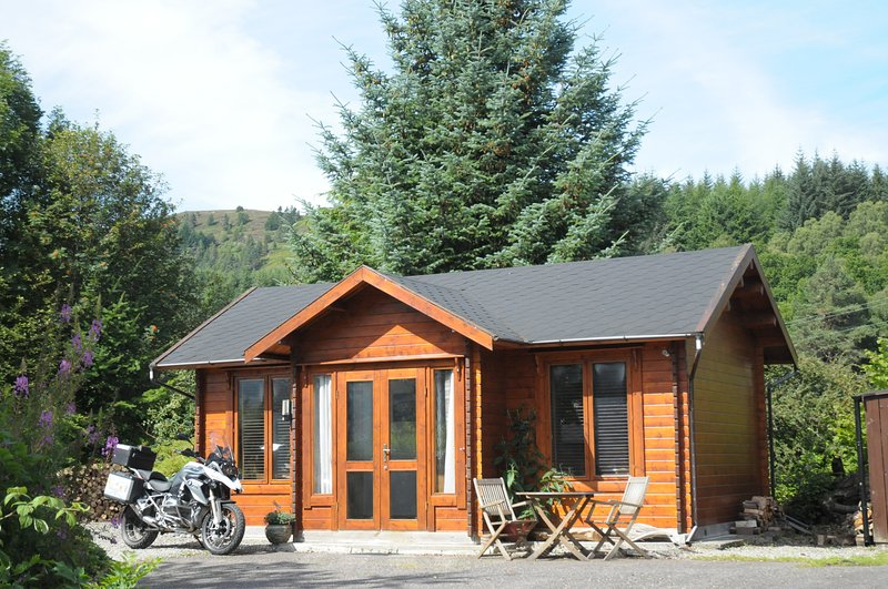 hill cottage cabins Fort Augustus loch ness Scottish Highlands, alquiler vacacional en Fort Augustus