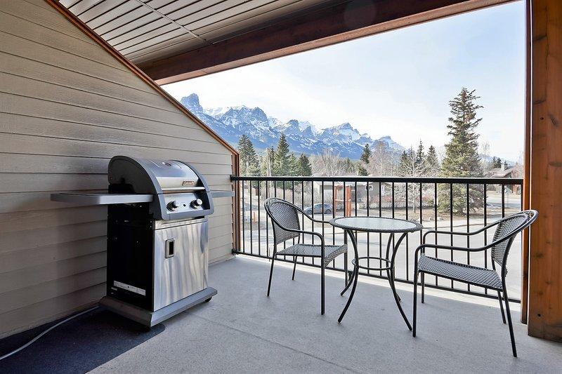 Barbacoa con una vista! patio privado para disfrutar del aire libre