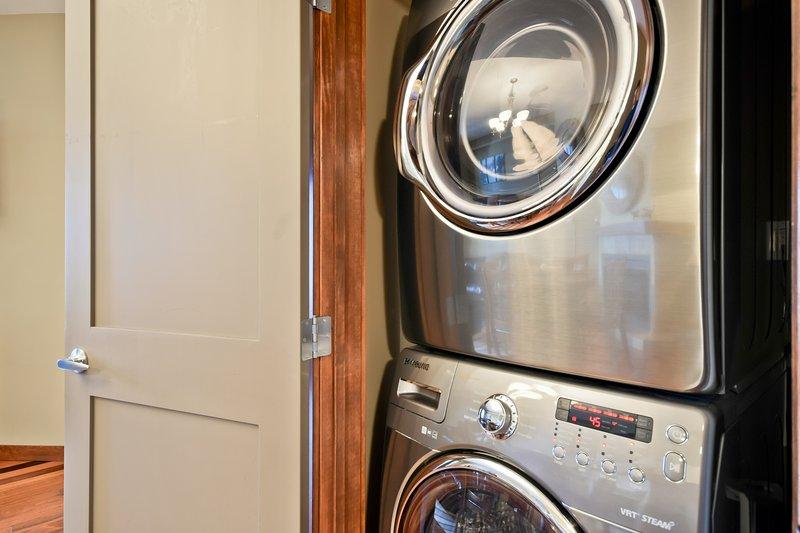 lavadora de vapor de alta calidad y secadora para su conveniencia