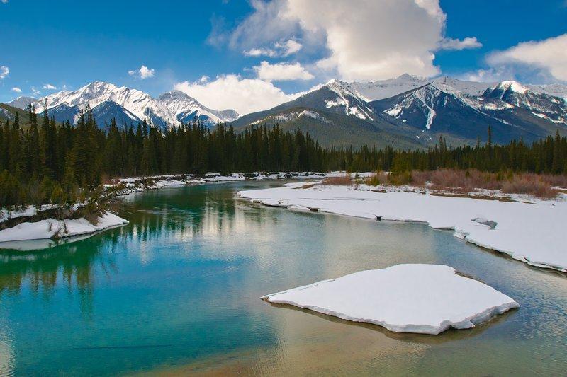Parque Nacional de Banff - bella durante todo el año!
