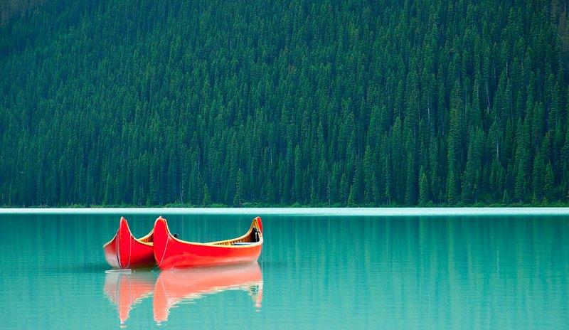 Hermoso Lago Louise