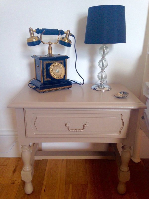 Bedside table / lamp