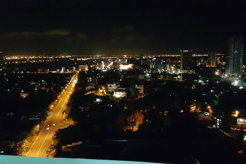Top floor, Grand Sea View and in-city view, Ferienwohnung in Vung Tau