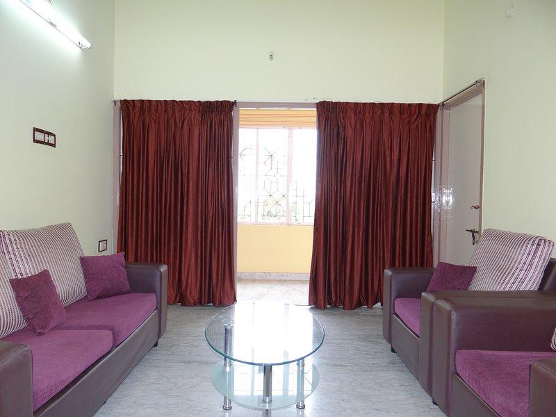 Side balkong från vardagsrummet