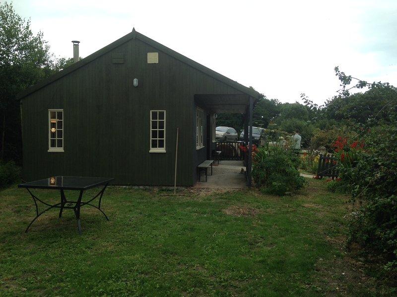 The Old Cricket Pavilion, North End Farm, casa vacanza a Whitchurch Canonicorum