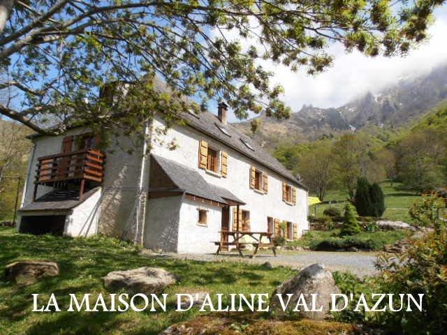 La Maison d'Aline , 3 gîtes au coeur des prairies du val d'azun., holiday rental in Aucun