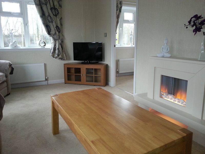Large living area.full central heating included