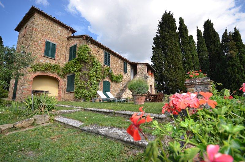 Villa Sasso, location de vacances à Lucignano