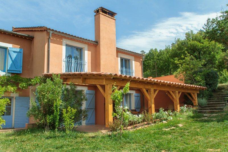 Gite du Romarin ****, holiday rental in Bras