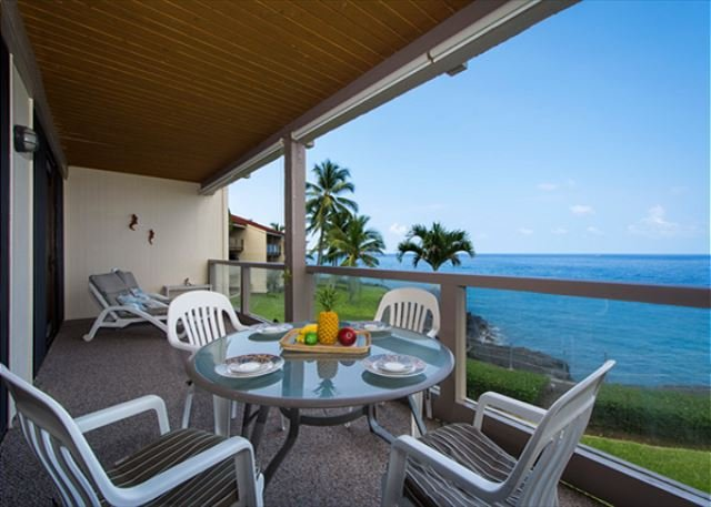 KKSR3202 DIRECT OCEANFRONT, Spacious, 2nd Flr, vacation rental in Kailua-Kona