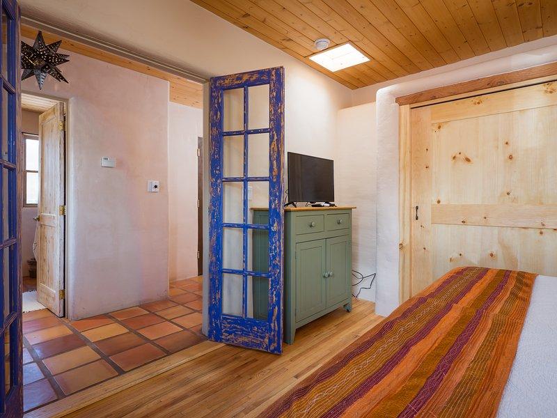 puertas francesas a la habitación añaden detalles romántica