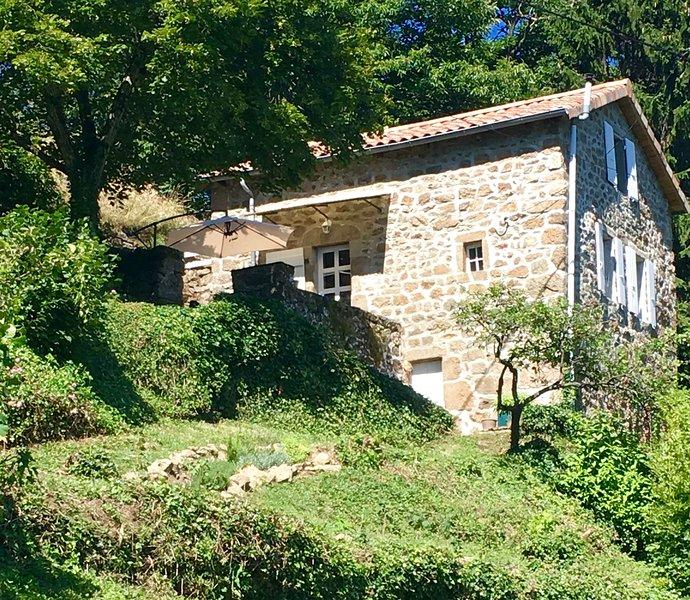 La Cabane des Monts d'Ardèche, holiday rental in Ajoux