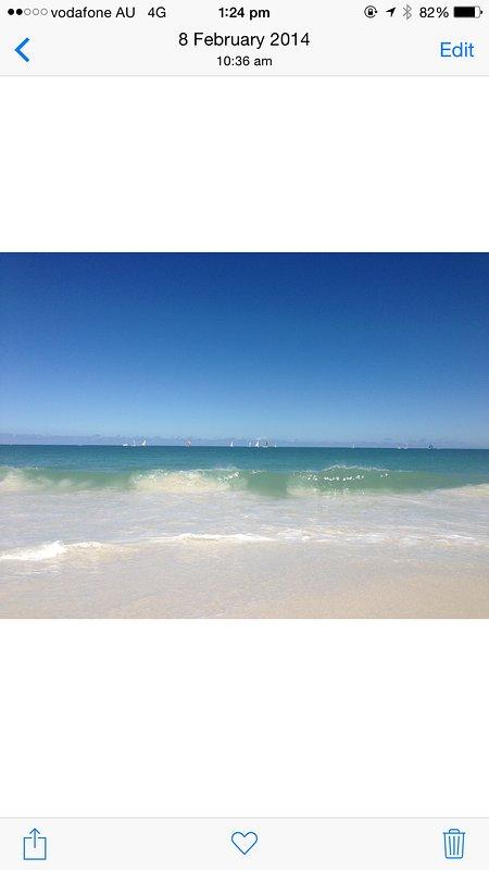 estudio frente a la playa