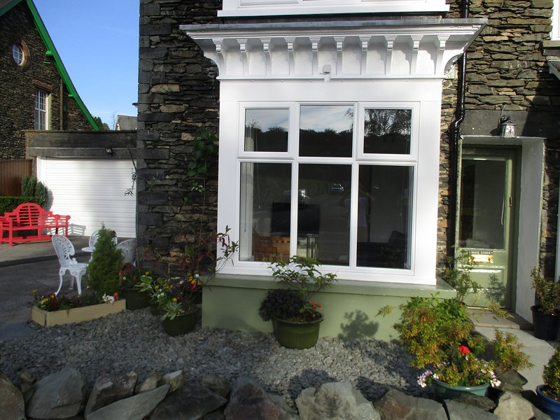 Entrance Porch to entire ground floor Lakeland Cottage by Lake Windermere  Lake District, Cumbria.