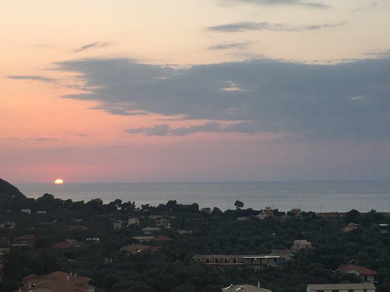 Lefkada Villas - Amazing Sea View #1, holiday rental in Lefkada Town