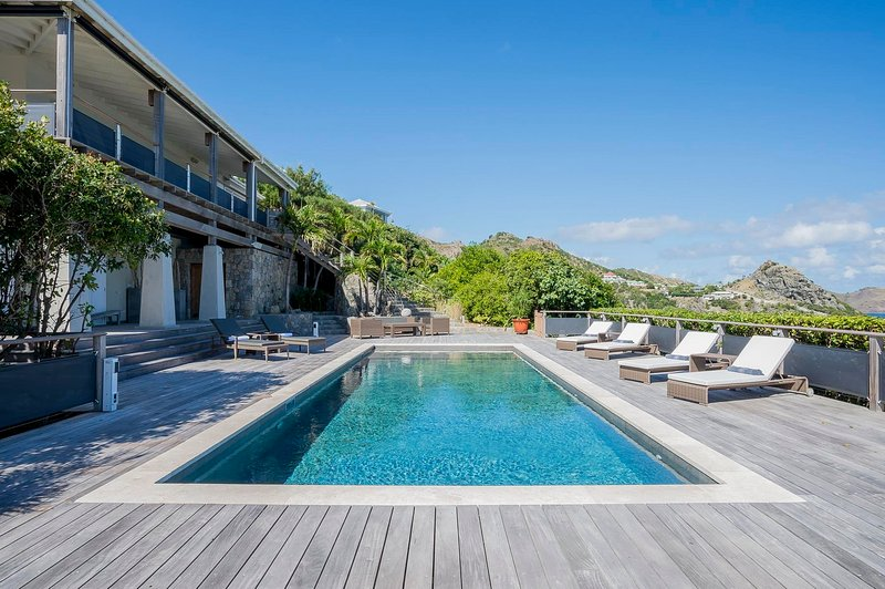 Villa Claridge St Barts, Stunning Atlantic views, a truly palatial villa, holiday rental in Anse des Cayes