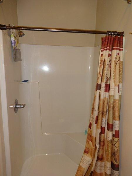 Large Walk in shower!