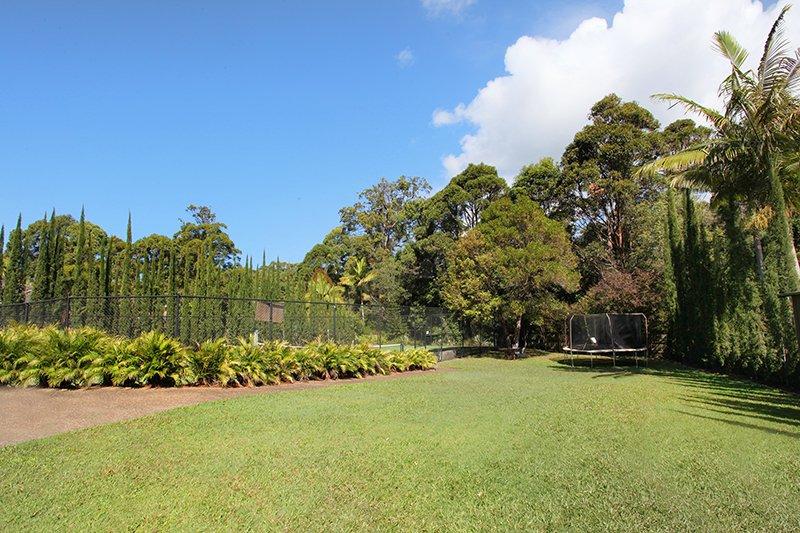 Private Backyard!