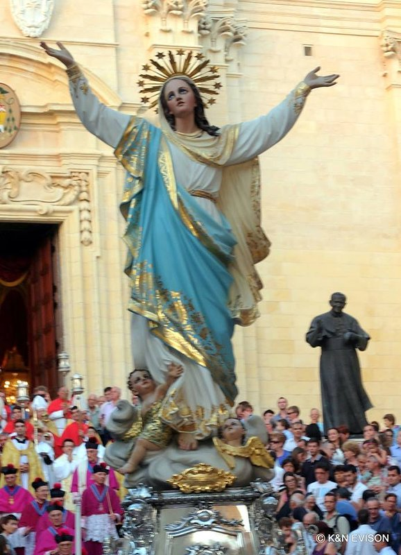 Santa Marija Feast (Assumption Day) - 15 August