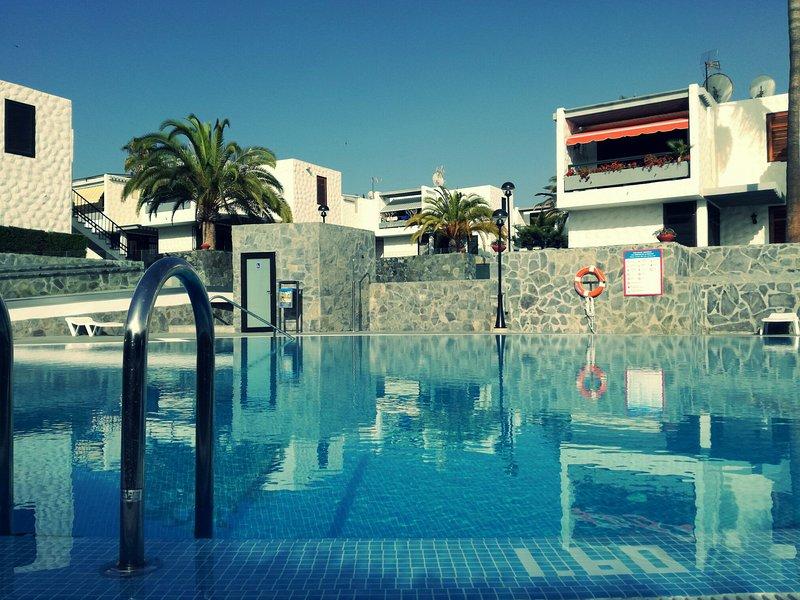 una maravillosa piscina
